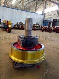 直径250单边铸钢行车轮 起重机主动被动车轮组