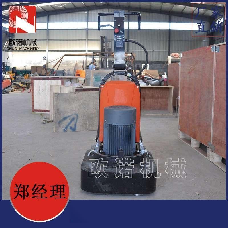 快速900型密封抛光机 石材地面翻新专用固化抛光机