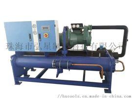 弘星制冷60p水冷螺杆式工业冷水机优惠促销