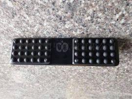 石川岛15橡胶块 IHI15橡胶板 230mm长