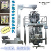 翻领式组合称包装机 多头秤立式包装设备 速冻薯条包装机