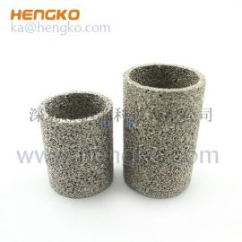 恒歌设计定制不锈钢气体过滤筒形状稳定耐高温