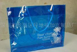 时尚PVC购物单肩包 手提包