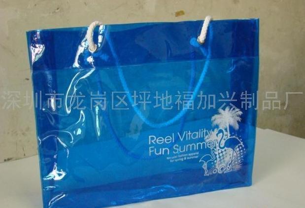時尚PVC購物單肩包 手提包