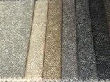 現貨新款密碼布加厚仿麻沙發面料 耐磨雙色多麗絲麻布裝飾座套布