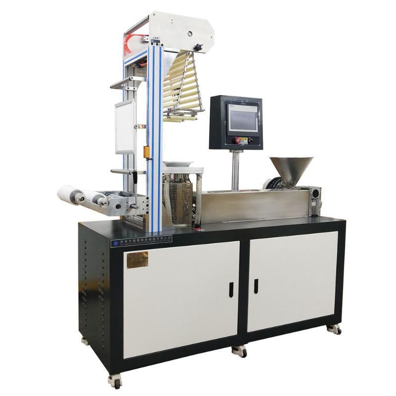材料研發專用三層共擠吹膜機