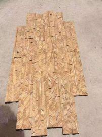 河北文化石杂色木纹文化石绿色冰裂纹批发