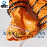 PVC夹网布伸缩风管/耐高温通风软管/排风管/隧道矿井排风管生产