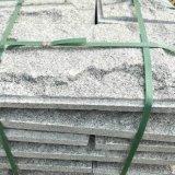 芝麻白蘑菇石幹掛效果圖 灰白色蘑菇石施工外牆自然毛石面牆磚