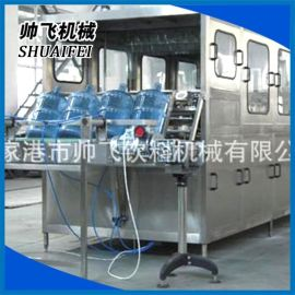 桶装水灌装机设备 纯净水灌装机 5加仑灌装生产线