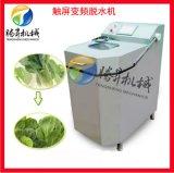 蔬菜脱水机 变频自动青菜脱水机 豆芽菜甩干机