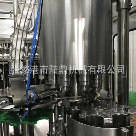 啤 冲洗灌装封口三合一一体机 玻璃瓶皇冠盖灌装机 玻璃瓶灌装线