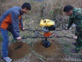 汽油非标螺旋式植树挖坑机 便携式大马力种树挖坑机