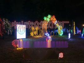 聖誕裝飾燈 花瓶造型燈LED戶外景觀燈