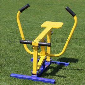新国标划船器 小区广场公园室外健身路径划船器