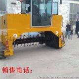 全自動翻拋機翻耙機 有機肥發酵牀翻堆機