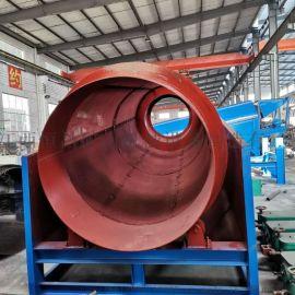 厂家供应大型滚筒式筛沙机 圆形滚筒筛砂石筛分机