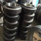 560颗粒机压辊压轮皮压轮总成 耐磨压辊皮偏心轴压轮盖