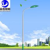 廠家直銷8米道路照明燈6米A字單臂燈杆金豆