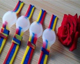彩色硅膠手表帶