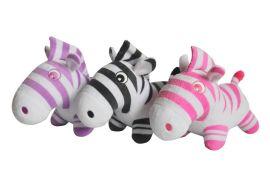 毛绒玩具制作 茶山毛绒玩具厂 订做斑马