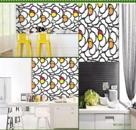 新韩卧室 书房背景墙壁纸 现代简约风格16.5韩国原装进口PVC墙纸