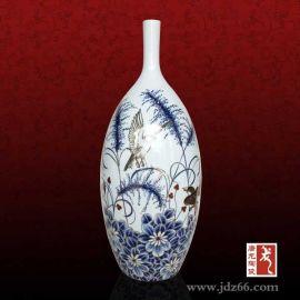 青花瓷小花瓶,办公室办公桌摆设青花瓷小花瓶
