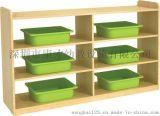 供应优质环保幼儿园玩具柜、分区柜