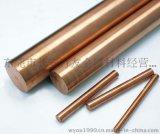【厂家热销】5-200mm高纯紫铜棒T2高导电红铜棒