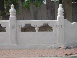 供应白色大理石栏杆、白色花岗岩桥栏杆
