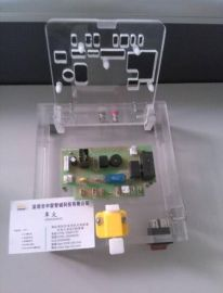 有机玻璃PCBA功能测试盒 翻盖形式功能测试架