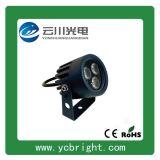 廠家直銷景觀亮化3W圓形LED戶外射燈小投光燈