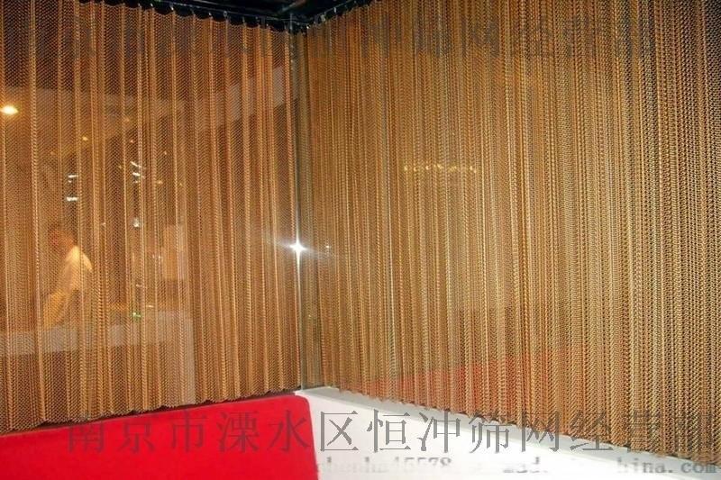 南京金属环网/金属幕墙网/吊顶网/建筑装饰网,圆环工艺品1.2*10仿金色