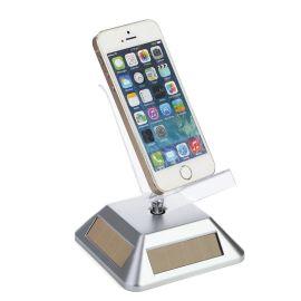太阳能手机托手机展示架