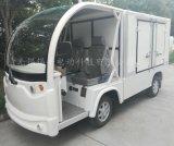 鎮江揚州2座電動餐車,校園電廠四輪不鏽鋼保溫送餐車
