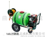 新型果园用160L汽油高压喷雾机轻便高效打药机