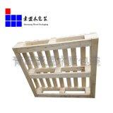 定製青島港貨物出口木托盤 青島豪盟木托盤製造商專業直銷可批發