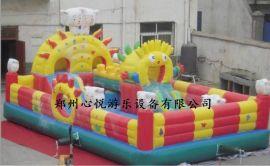 儿童充气城堡大型充气滑梯户外小型蹦蹦床厂家直销