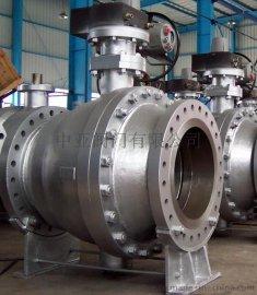 中亚大口径美标铸钢球阀Q41H-DN500-150LB