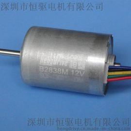 恒驱直流无刷电机B2838M,DC7.4V  电推剪