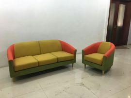 办公室沙发茶几组合简约现代商务沙发简易会客沙发贵宾接待室沙发