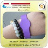rfid智能硅胶手腕带、厂家个性定制、高频防水耐高温nfc手腕带