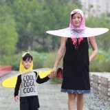匯駿 兒童雨帽 雨衣 雨傘摺疊傘 可印刷定製 斗笠傘帽雨具 飛碟