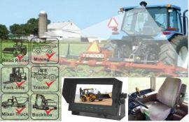 工程机械倒车影像|车载后视系统|车载监视系统