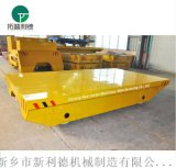 汽车配件厂区电动搬运平板 车间运输磨具车蓄电池