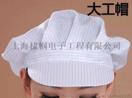 防静电大小工帽 防静电鸭舌帽 防静电圆帽