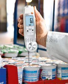 超大背光顯示屏食品溫度計 testo 104