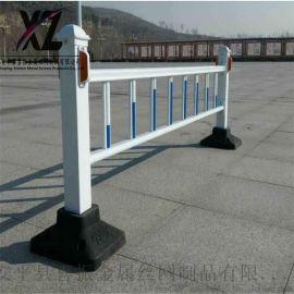 道路护栏生产、市政道路护栏工艺、喷漆道路分隔栏
