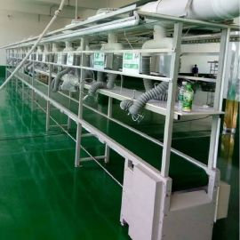 定制铝型材输送线 皮带式流水线 物流分拣生产线