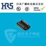 HRS广濑连接器 BM10B(0.6)-10DP-0.4V(51)